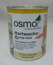 Hartwachs-Öl Original von Osmo farblos seidenmatt - 750 ml