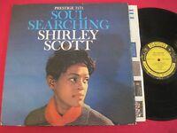 JAZZ LP - SHIRLEY SCOTT - SOUL SEARCHING - PRESTIGE 7173 ORIGINAL DG RVG