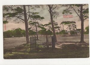 The Old Stocks Hadley Green 1908 Postcard  213a