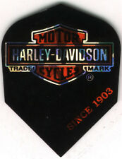 Harley Davidson Logo Dart Flights: 3 per set