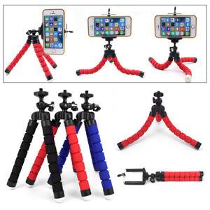 Octopus Adjustable Tripod Stand Flexible Phone Holder for Phone Camera Bracket