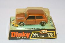Dinky Toys 178 Mini Clubman Bronze perfect mint in box
