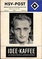 Deutsche Meisterschaft 60/61 Hamburger SV - Eintracht Frankfurt, 03.06.1961