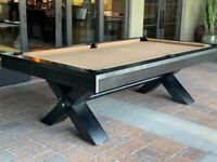 Vox pool table 8ft. | Plank and hide | free shipping free accessories