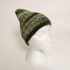 Gorra de mujer multicolor de lana