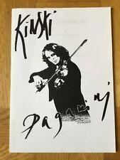 Klaus Kinski Paganini (Presseheft '99)