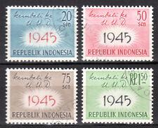 Indonesia - 1959 Constitution of 1945 Mi. 249-52 VFU