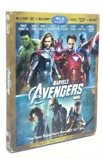 Avengers 3D, The (Blu-ray 3D+Blu-ray+DVD, 2012) with Slipcover [NO Digital Copy]