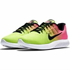 NIKE MEN LUNARGLIDE 8 OLYMPIC COLLECTION VOLT RUNNING SHOES 12 NEW 844632-999
