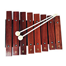 Kids Wooden Xylophone Percussion 8 Wide Note Tone Musical Instrument  Toys New