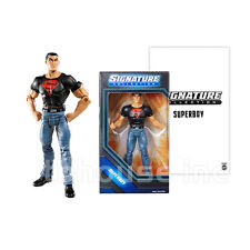 """6"""" SUPERBOY figure DC SIGNATURE COLLECTION conner kent SUPERMAN UNIVERSE mattel"""