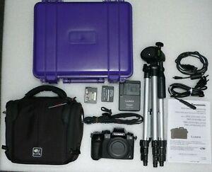 Panasonic DMC-G70 LUMIX 16MP Schwarz, nur Gehäuse - Optisch absolut TOP