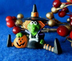Hallmark Merry Miniature 1986 Witch NEW