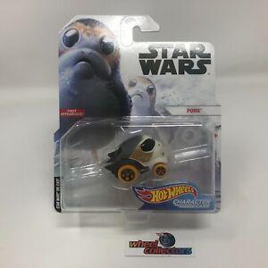 Porg * Hot Wheels STAR WARS Disney Character Cars * ZD9