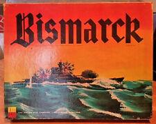 Vintage Bismarck 1962 Avalon Hill Brand Board Game- Realistic Naval Game