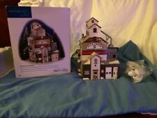 Snow Village Dept 56 The Farmers Co -op Granary
