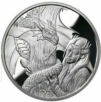 Ann Stokes Collection 1oz Kindred Spirits .999 Fine Silver Proof Round COA