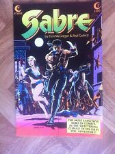 SABRE #2 ECLIPSE COMICS VERY FINE/NEAR MINT (W1)