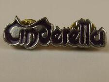 Cinderella Band Purple Enamel Metal Pin 1.5