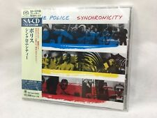 The Police Synchronicity SHM SA-CD Japan Limited Edition from Japan