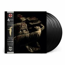Resident Evil 4 Collector's Edition Limited Vinyl Record Soundtrack 4 LP Black
