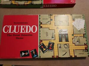 Vintage Cluedo VGC & Complete