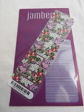 Jamberry Botanical Garden B165 Nail Wrap ( Half Sheet ) Retired Design
