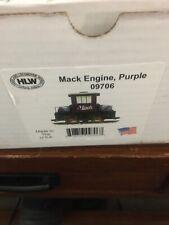 Hartland Locomotive Works Purple Mack Engine 09706 New In Box