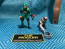BATMAN FOREVER The Riddler Trapping Brain Drain Helmet ACTION FIGURES TOYS 1995