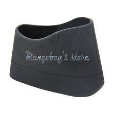 Hunting Tactical Silicone Rubber Slip-on Recoil Butt Pad Buttpads Black