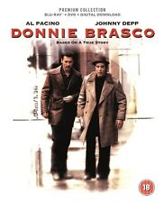 BLU-RAY DONNIE BRASCO   PREMIUM EXCLUSIVE EDITION NEW SEALED UK STOCK
