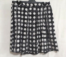 SISLEY Grey White Spotted Skirt Sz 10 Ladies summer Italian designer skirts