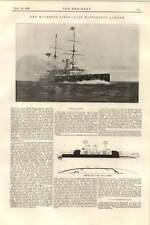 1899 Hms London Battleship Isaac Wilson