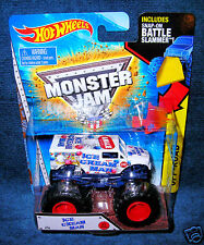 HOT WHEELS 2015 ICE CREAM MAN MONSTER JAM TRUCK NEW RIDE BATTLE SLAMMER LEGENDS