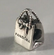 Authentic Genuine  SILVER PANDORA Shopping BAG  charm  791184
