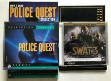 Police Quest Collection Series + Swat 3 PC Simulation Game Bundle *Great Cond.*