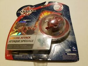 BAKUGAN BATTLE BRAWLERS SPECIAL ATTACK RED BOOST INGRAM, Sill Sealed