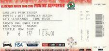 Ticket - Blackburn Rovers v West Bromwich Albion 14.08.04