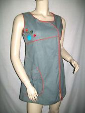 Tunique blouse avec découpes brodé COLINES   Taille M