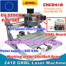 【IT】3 Axis 2418 DIY Mini Laser Machine GRBL Control Pcb Milling Wood Router CNC