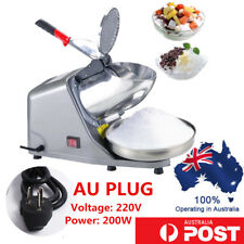 65KG/H 1450R/min Electric Ice Crusher Shaver Commercial Machine Snow Cone Maker