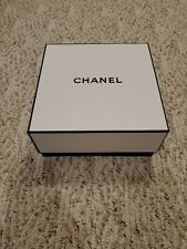 "Chanel gift Box pouch card 8 1/2"" x 9"" x 4"""
