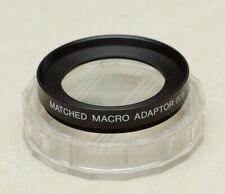 Vivitar/Cosina Matched Macro Adaptor (1:1) 49mm for 100mm 3.5 Macro Lens