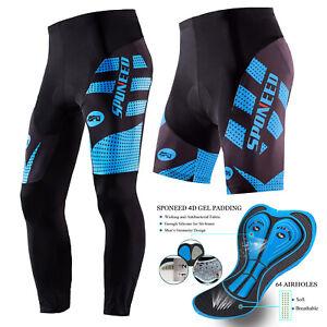 Cycling Shorts Men Padded Stretchy Bike Pants Road Cycle Tights Cycle Bottoms