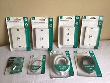 New Mixed Lot Of 8 General Electric Telephone Accessories  Coil Cord Wall Mount