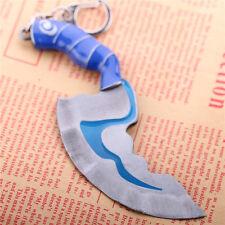 Dota 2 Kelen's Blink Dagger Hunter Knife Model Keychain Key Ring Pendant Gift