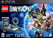 LEGO Dimensions Starter Pack -(Sony PlayStation 3) Ps3 Video Game For KIDS NEW