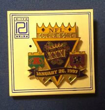 SUPER BOWL XXXI Lapel Pin ~ Football 1997