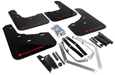 RALLYARMOR 2014-2017 FORD FIESTA ST RALLY ARMOR UR MUD FLAPS BLACK / RED