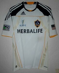 LA Galaxy adidas MLS Cup 2011 Landon Donovan Techfit Home Soccer Jersey